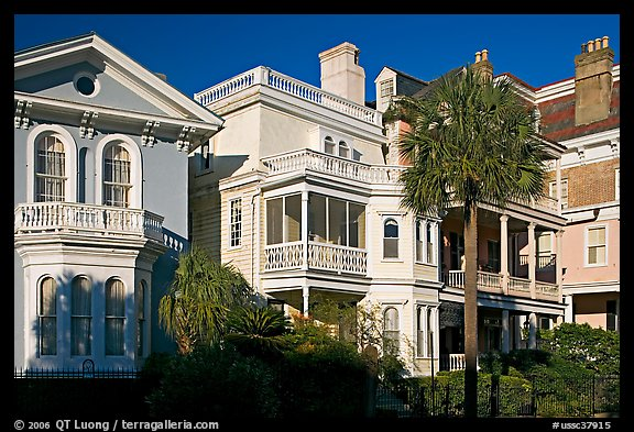 Antebellum architecture. Charleston, South Carolina, USA