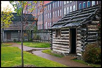 Fort Nashborough. Nashville, Tennessee, USA (color)