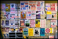 Posters on display, Hatch Show print. Nashville, Tennessee, USA ( color)