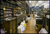 Inside poster print shop, Hatch Show,. Nashville, Tennessee, USA ( color)