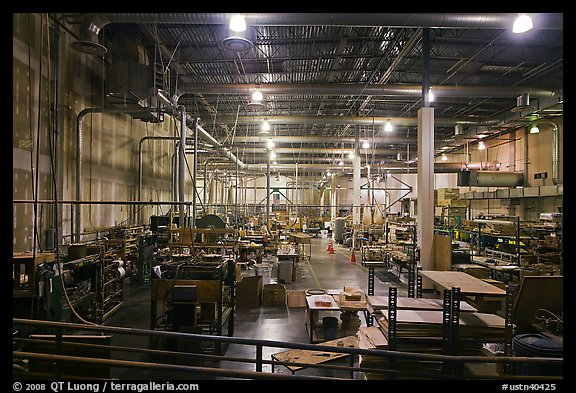 Inside of factory room. Memphis, Tennessee, USA