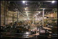 Inside of factory room. Memphis, Tennessee, USA (color)