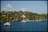 Red Hook harbor. Saint Thomas, US Virgin Islands ( color)