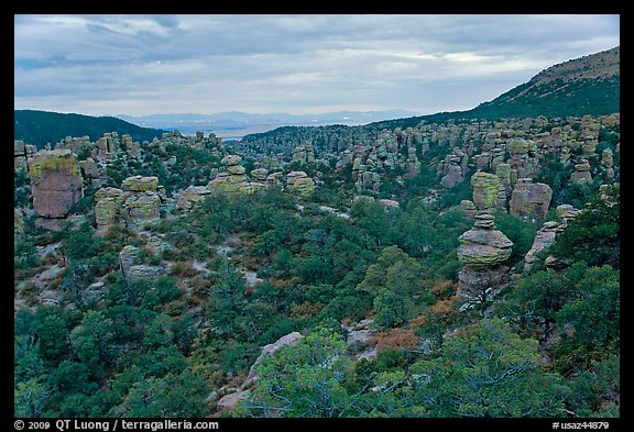Massai Point view. Chiricahua National Monument, Arizona, USA (color)