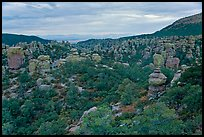 Massai Point view. Chiricahua National Monument, Arizona, USA ( color)
