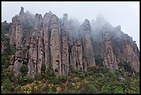 Stone columns. Chiricahua National Monument, Arizona, USA ( color)