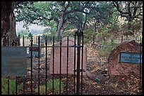 Erikson Cemetery. Chiricahua National Monument, Arizona, USA ( color)