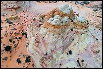 Aerial view of Teepee. Vermilion Cliffs National Monument, Arizona, USA ( color)