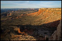 Rim cliffs, Sanup Plateau, from Twin Point. Parashant National Monument, Arizona, USA ( color)