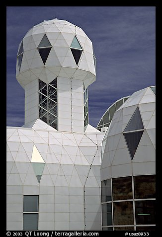 Tower. Biosphere 2, Arizona, USA (color)