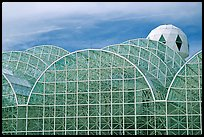 Glass enclusure and tower. Biosphere 2, Arizona, USA ( color)