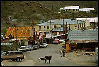 Main Street, Oatman. Arizona, USA ( color)
