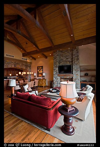 Luxury residence, Peaks resort. Telluride, Colorado, USA (color)