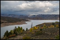 Autumn at Sapinero Basin, Blue Mesa Reservoir, Curecanti National Recreation Area. Colorado, USA ( color)