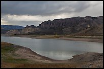 Dillon Pinnacles, Blue Mesa Reservoir, Curecanti National Recreation Area. Colorado, USA ( color)