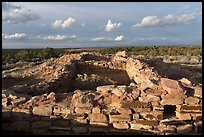 Lowry Pueblo, late afternoon. Canyon of the Ancients National Monument, Colorado, USA ( color)