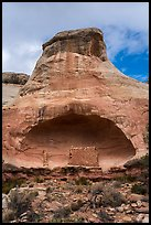 Saddlehorn Pueblo. Canyon of the Ancients National Monument, Colorado, USA ( color)