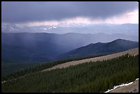 Storm, Mt Evans. Colorado, USA ( color)