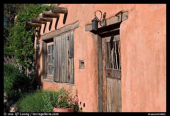 Picturephoto Door Window And Vigas Wooden Beams Santa
