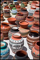 Pottery for sale. Santa Fe, New Mexico, USA ( color)