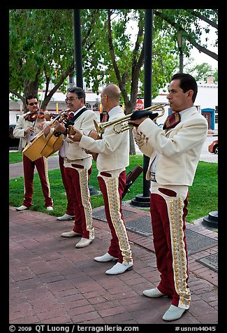 New Mexico mariachi. Albuquerque, New Mexico, USA (color)