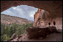 Alcove House. Bandelier National Monument, New Mexico, USA ( color)