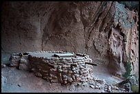 Kiva, Alcove House. Bandelier National Monument, New Mexico, USA ( color)