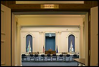 Assembly room inside Nevada State Capitol. Carson City, Nevada, USA ( color)