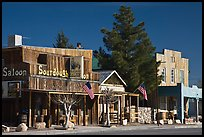 Saloon on main street, Beatty. Nevada, USA (color)