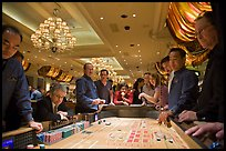 Casino craps game. Las Vegas, Nevada, USA (color)