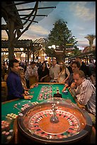 Roulette game. Las Vegas, Nevada, USA ( color)