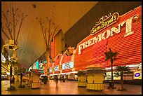 Fremont Casino, Fremont Street. Las Vegas, Nevada, USA ( color)