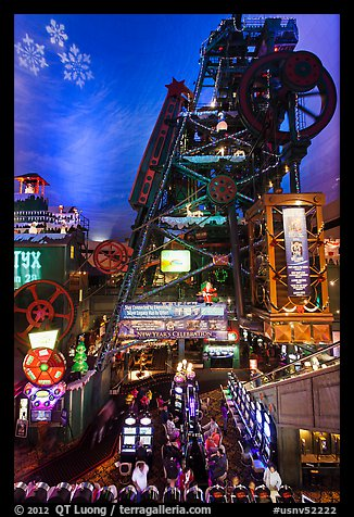 Picture/Photo: Inside Circus Circus casino. Reno, Nevada, USA
