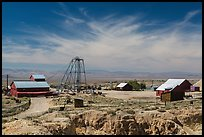 Tonopah historic mining park. Nevada, USA ( color)