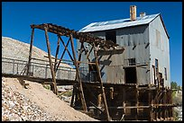 Historic mining building. Nevada, USA ( color)