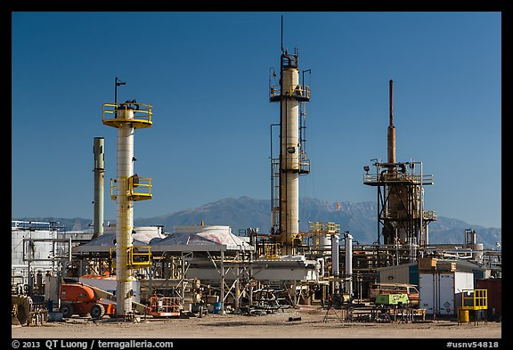 Refinery. Nevada, USA (color)