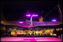 Acrobat, Circus Circus casino. Reno, Nevada, USA ( color)
