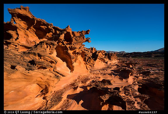 Little Finland, afternoon. Gold Butte National Monument, Nevada, USA (color)