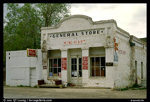 General store. Nevada, USA (color)