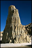 Cathedral-like spire, Cathedral Gorge State Park. Nevada, USA (color)