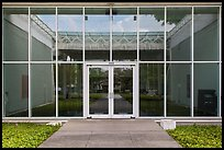 Menil Collection Entrance. Houston, Texas, USA ( color)