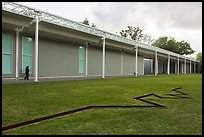 Main Menil Collection building. Houston, Texas, USA ( color)