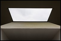 Skylight, Centennial Pavilion, Rice University. Houston, Texas, USA ( color)