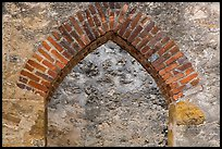 Portal, Convento, Mission San Jose. San Antonio, Texas, USA ( color)