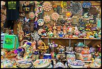 Handicrafts from Mexico for sale, Market Square. San Antonio, Texas, USA ( color)
