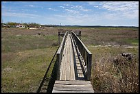 Deck over dried Buchanan Lake, Tow. Texas, USA ( color)