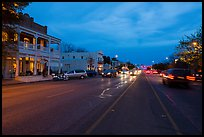 Main street. Fredericksburg, Texas, USA ( color)