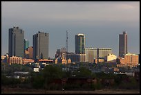 Skyline. Fort Worth, Texas, USA ( color)