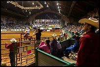 Cowtown coliseum Stokyards Rodeo. Fort Worth, Texas, USA ( color)