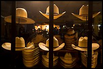 Cowboys hats for sale. Fort Worth, Texas, USA ( color)